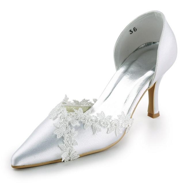 pantofi stiletto cu dantela