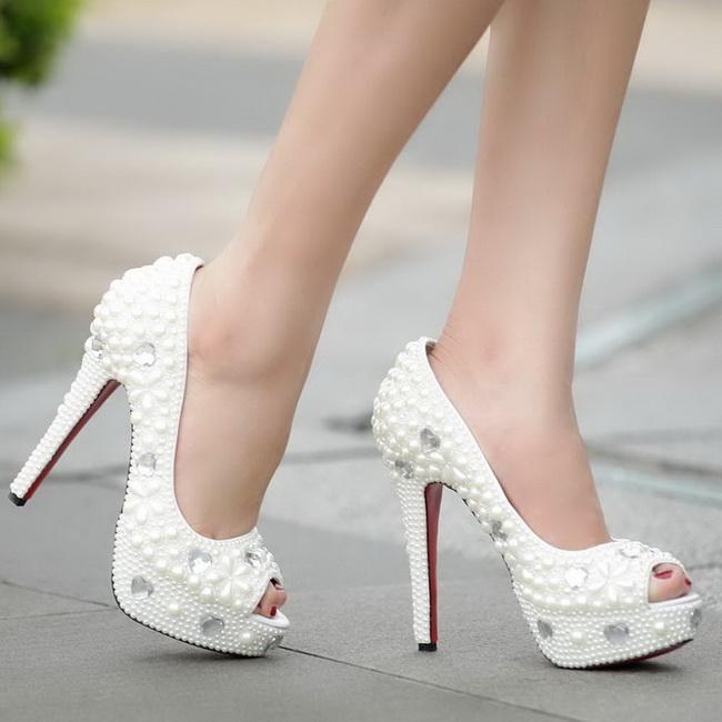 pantofi toc inalt mirese