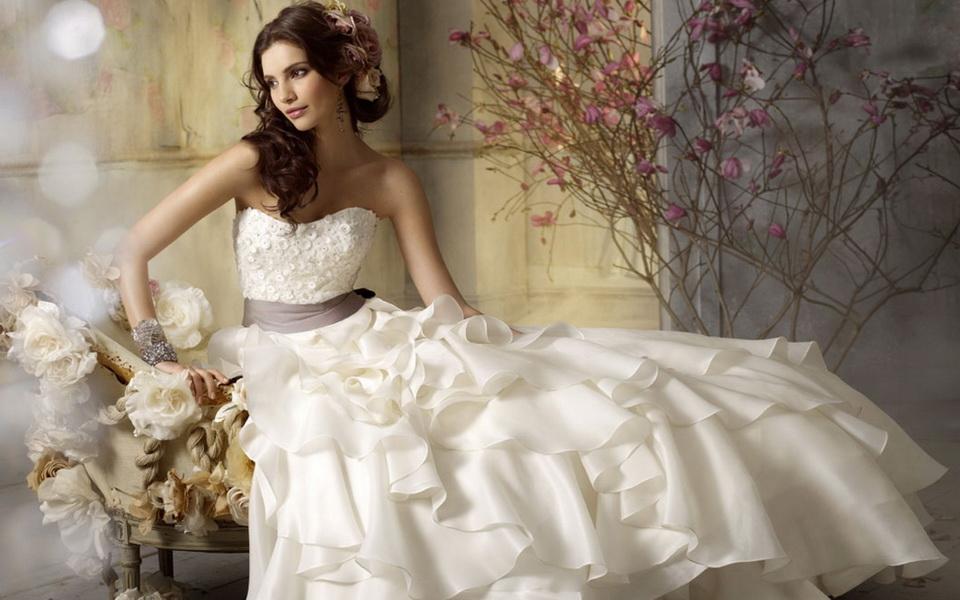 rochii de mireasa princess 2015