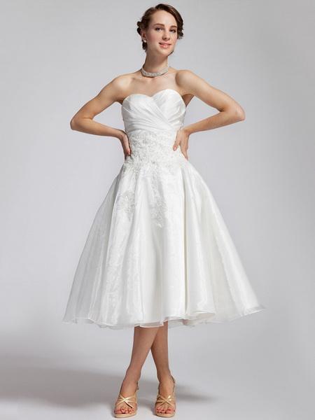 rochii de mireasa scurte 2015