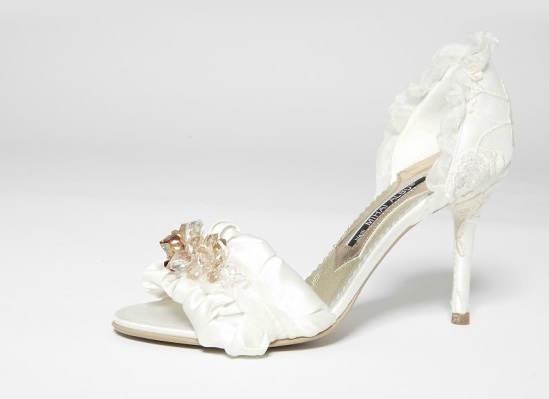sandale Mihai albu mirese
