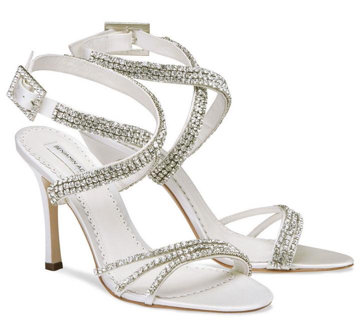 sandale mireasa cu pietre swarovski