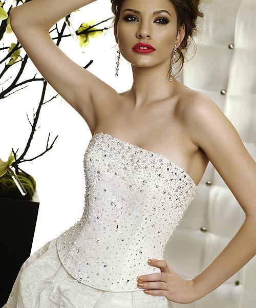 corset rochie de mireasa