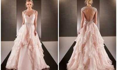 culori pentru rochii de mireasa 2017