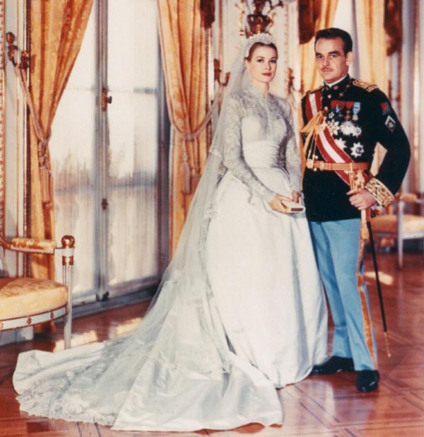 Rochia de mireasă a lui Grace Kelly