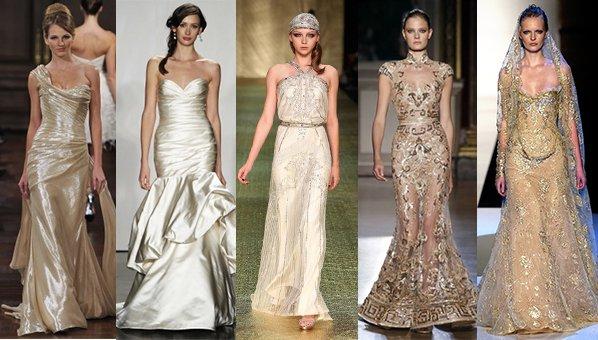 rochii aurii de nunta