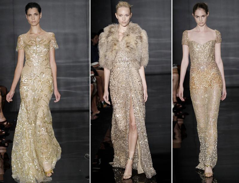 rochii aurii pentru mirese