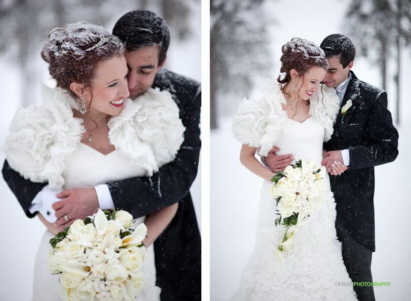 mireasa si mire nunta de iarna