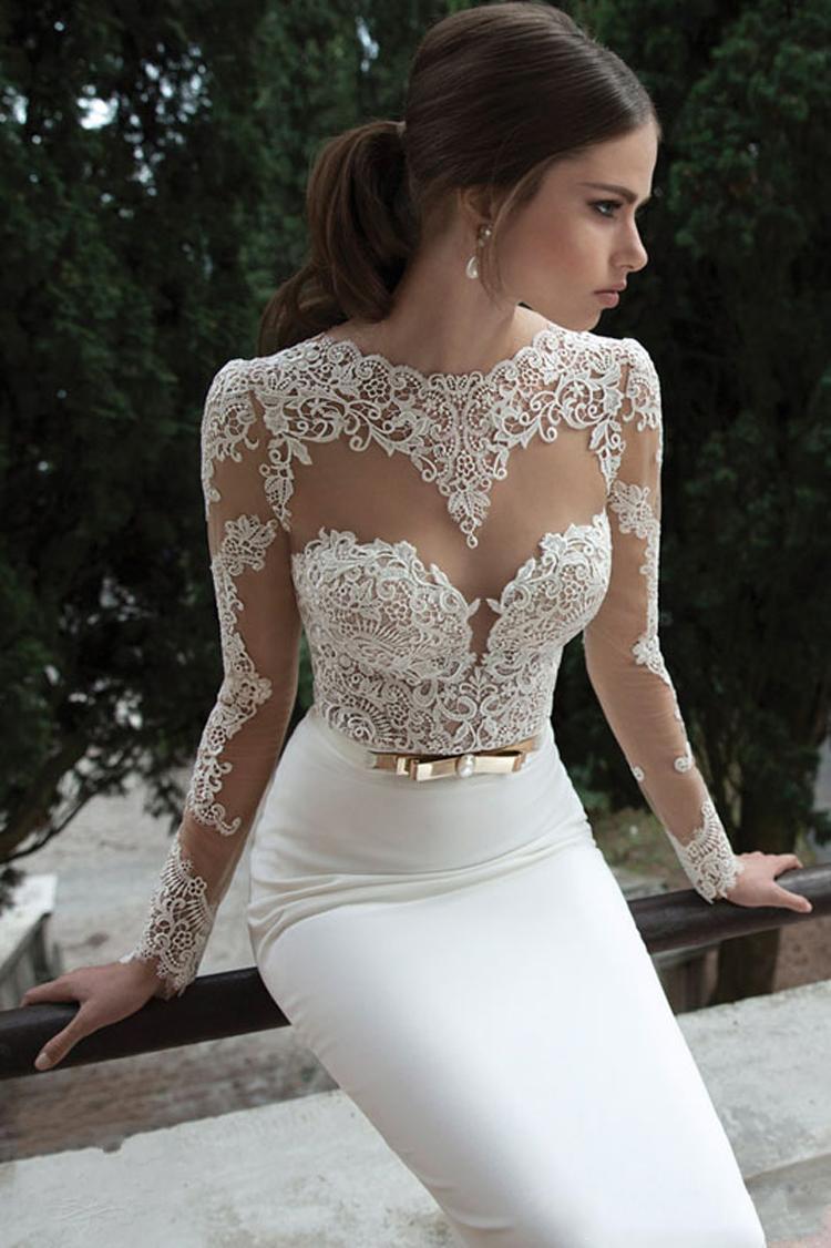 rochie mireasa eleganta si simpla