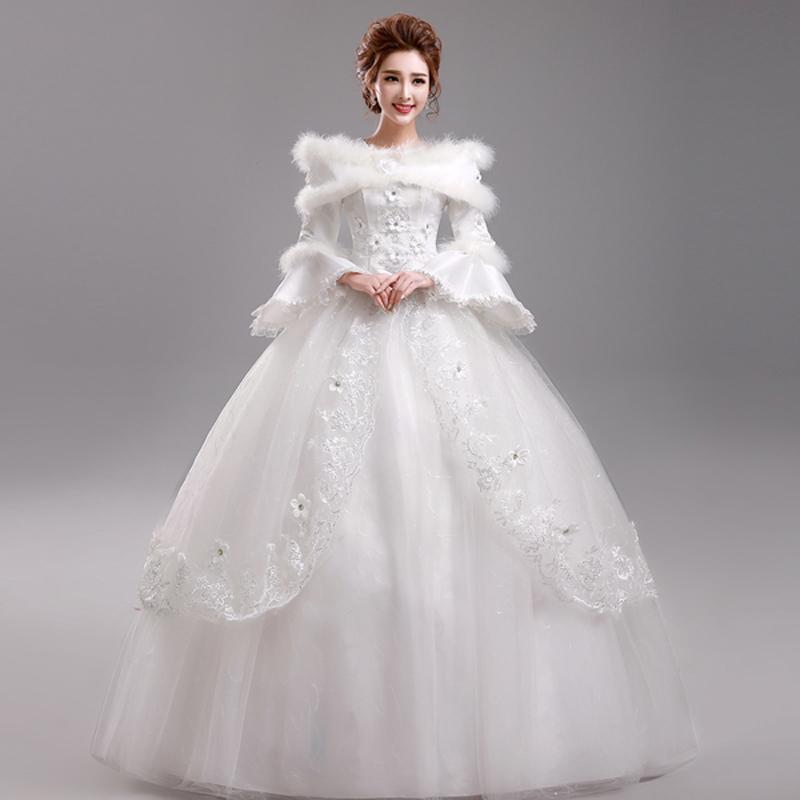 rochie mireasa printesa iarna