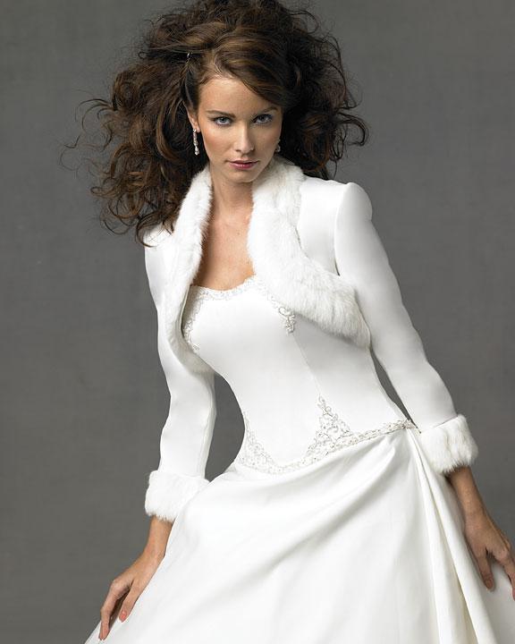 sacou alb pentru mireasa