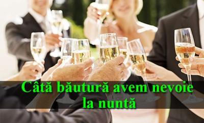 bautura pentru nunta