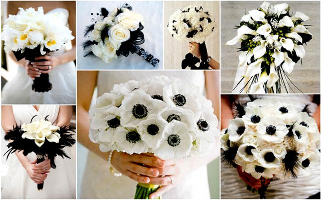 flori albe pentru buchetul miresei