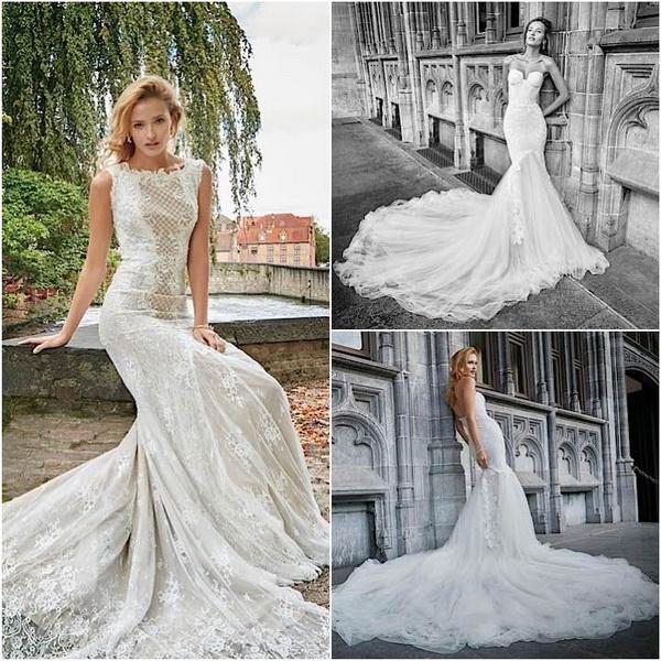 rochie mireasa cu trena lunga 2017