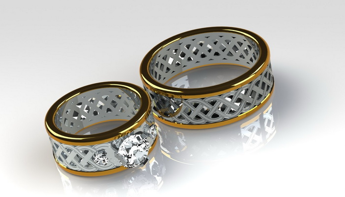 Wedding Rings Groom And Bride Numenorean On Deviantart 2016 2017 Wedding Rings For The Groom - wedding rings