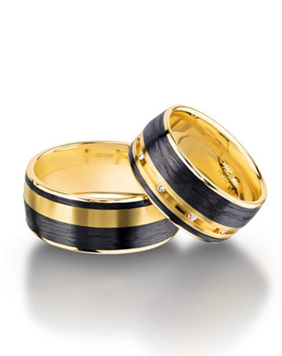 verighete negre cu aur