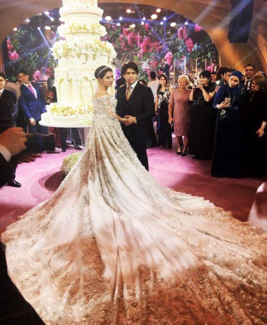 Așa arată cea mai extravagantă nuntă din Rusia