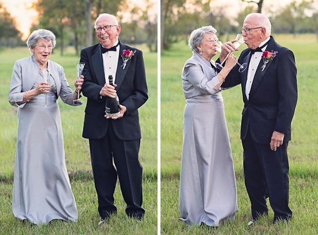 Acest cuplu a așteptat 70 de ani pentru a face pozele de nuntă 2
