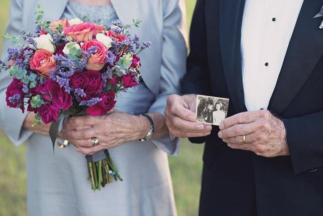 Acest cuplu a așteptat 70 de ani pentru a face pozele de nuntă 4