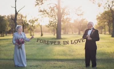 Acest cuplu a așteptat 70 de ani pentru a face pozele de nuntă