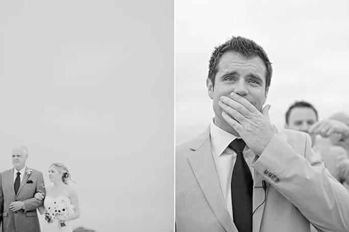 Cele mai emoționante reacții ale mirilor când și-au văzut miresele 15