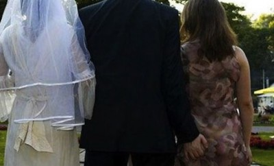 Nunta a fost întreruptă de amanta soțului