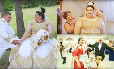 Opulenţa maximă etalată la nuntă i-a făcut celebri pe internet