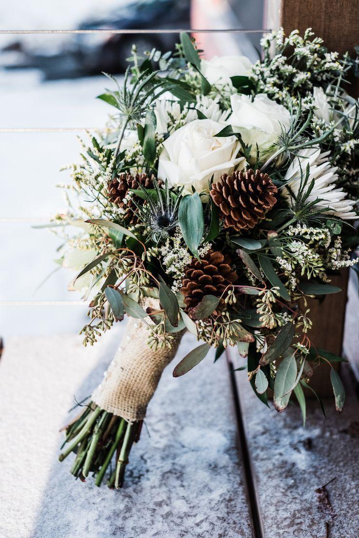 buchet mireasa flori de iarna