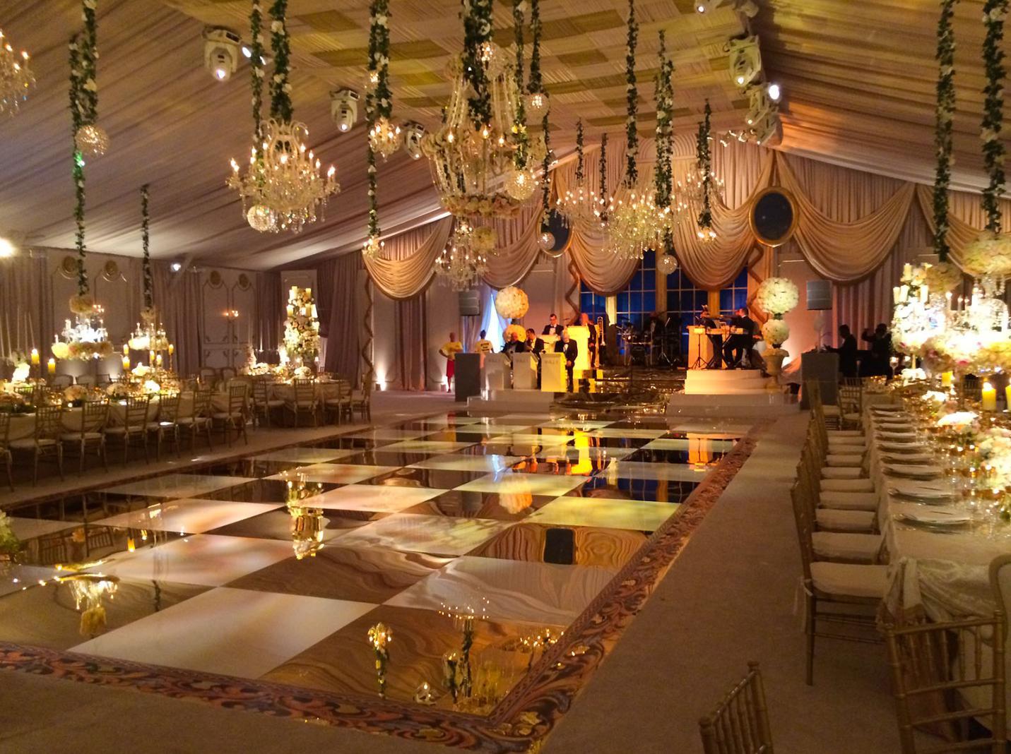 nunta eleganta la cort