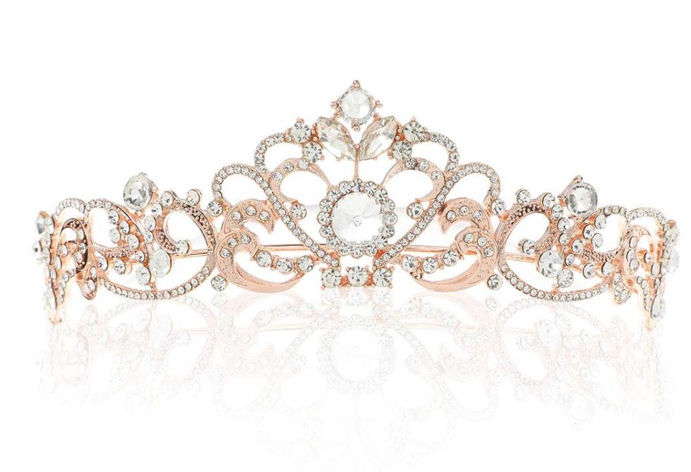 Tiara in stil de coroana de printesa