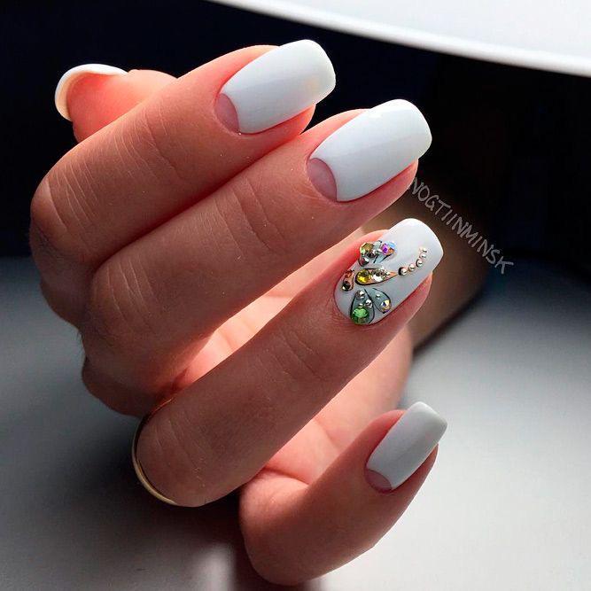 modele de unghii pentru mirese 2021