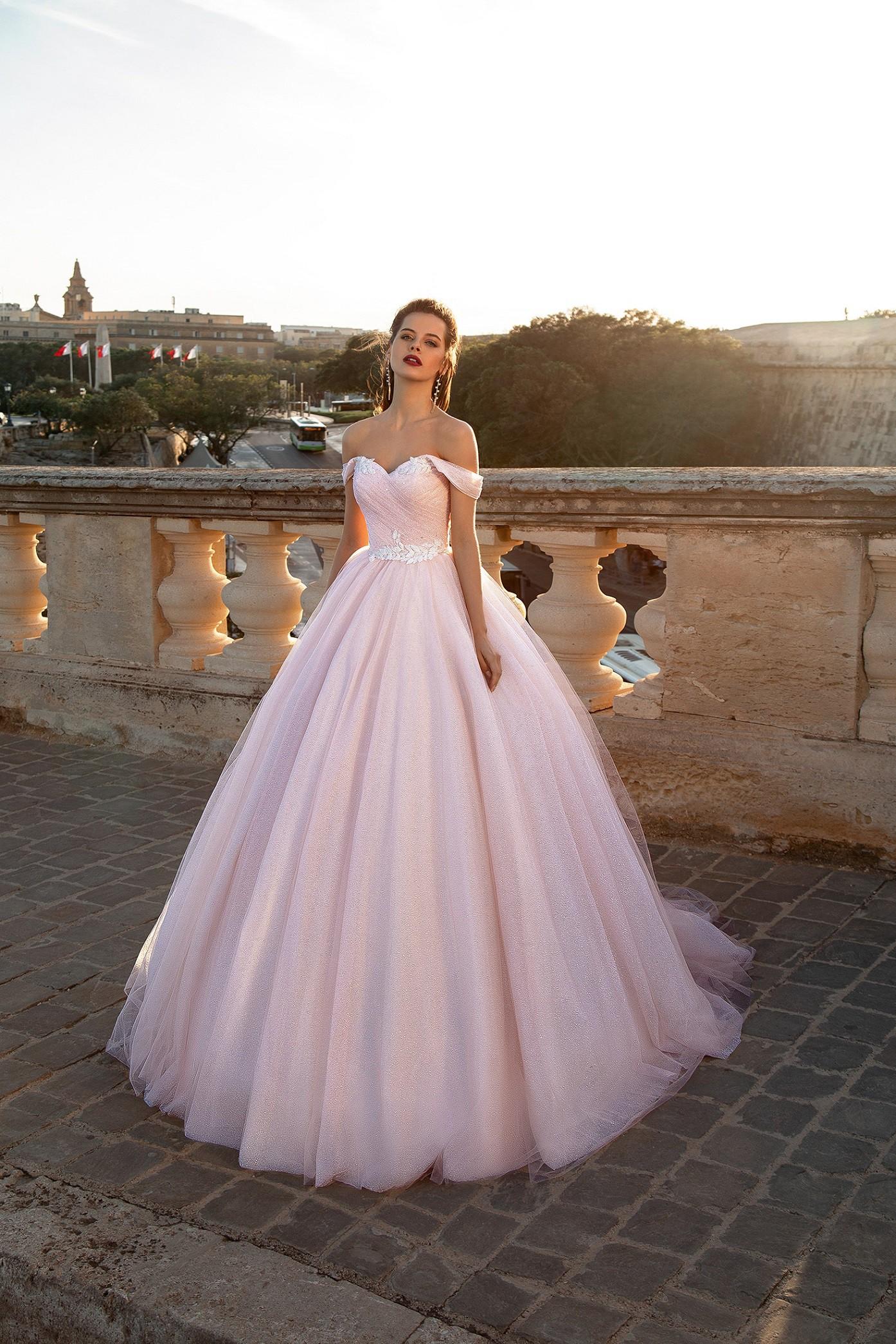 Rochie de mireasa colorata
